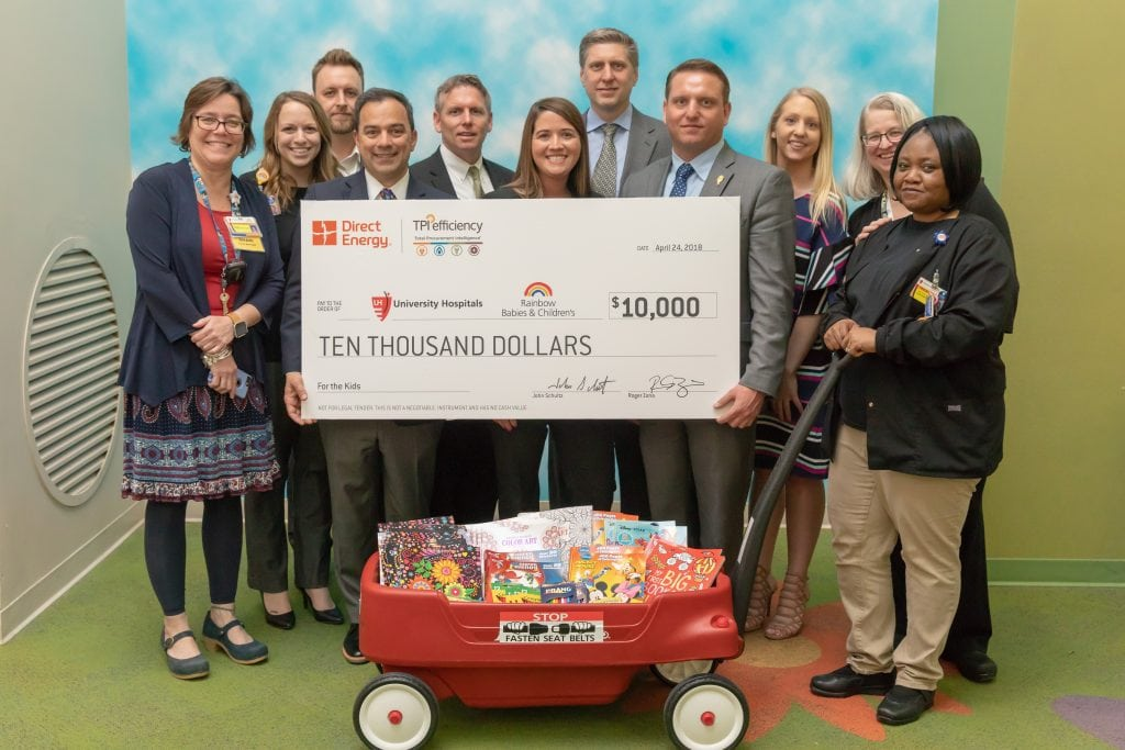 Direct Energy Business & TPI Efficiency Donate $10,000 to University